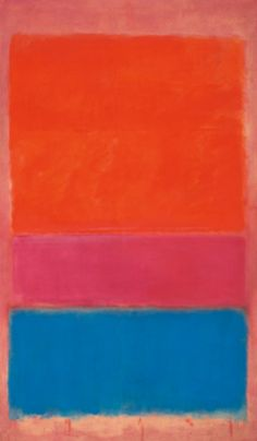 "Mark Rothko,  ""No 1 (Royal Red and Blue)"" Courtesy Sotheby's"
