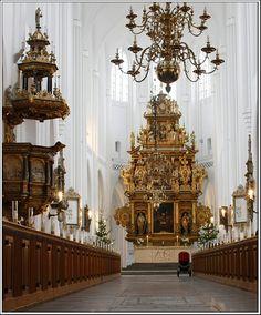 The Church of Saint Peter, est.1319, Malmo, Sweden Copyright: Serghei Pakhomoff