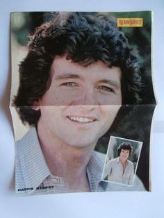 Patrick Duffy Charlene Tilton Mini Poster Greek Magazines clippings 80s 90s   eBay