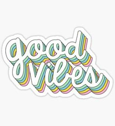 Retro stickers featuring millions of original designs created by independent artists. Stickers Cool, Red Bubble Stickers, Tumblr Stickers, Phone Stickers, Journal Stickers, Printable Stickers, Preppy Stickers, Frases Good Vibes, Homemade Stickers