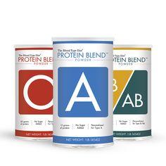Protein Blend Powder - Blood Type Specific