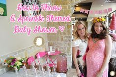 How to Throw a Sprinkle Themed Baby Shower