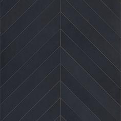 05735cf48ef Mews - Ink - Chevron - Porcelain Tile Chevron Tile