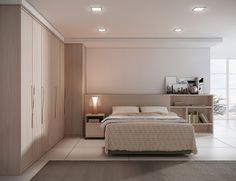 projetos de quartos de casal planejados pequenos - Pesquisa Google