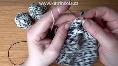 Škola pletení: zesílená pata u pletených ponožek