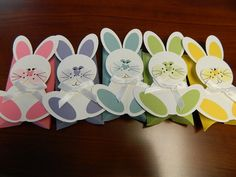 "Punches:  1-3/4"" Circle  Large Oval  Circle from Itty Bitty Shapes Punch Pack  Standard hole punch"