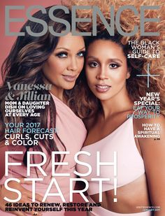 Vanessa Williams and Jillian Hervey Inspire Mother-Daughter Hair Goals on January 2017 Issue. | ESSENCE.com