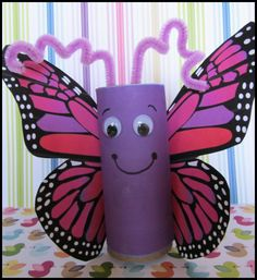 Craft Ideas For Kids With Toilet Paper Rolls