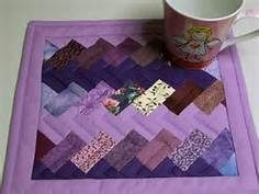 Quilted Mug Rugs Patterns - too complicated for me but very pretty!