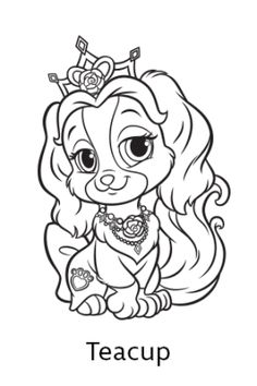 Disneys Princess Palace Pets Free Coloring Pages And Printables