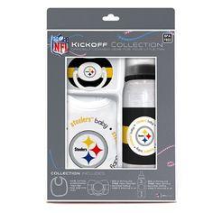 Amazon.com: Baby Fanatic NFL Pittsburgh Steelers Baby Fanatic Baby Fanatic Gift Set: Sports & Outdoors