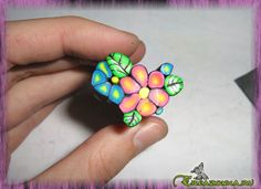 Clay Art Projects, Clay Crafts, Polymer Clay Canes, Polymer Clay Jewelry, Clay Design, Clay Tutorials, Sculpting, Lily, Turquoise