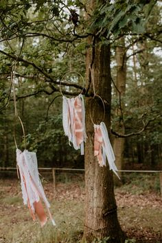 Hoop Ribbon Decor Whimsical Boho Wedding Camilla Andrea Photography #Hoop #Ribbon #WeddingDecor #Wedding