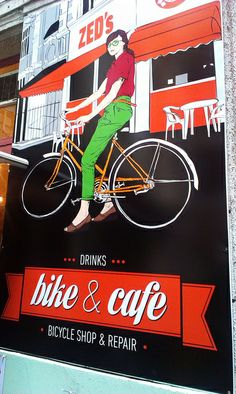 Bike & Cafe - Budapest #theghentchronicles