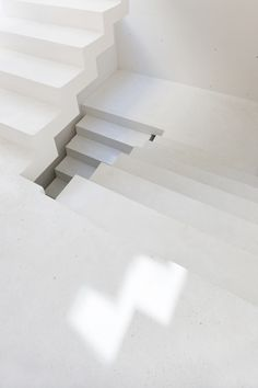 the stairs folded into the stairs