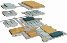 The Phoenix Convention Center's 3D floor plan, highlighting the Phoenix Convention Center's Meeting Space options, created using iMap's Event Space Presentation Software™.