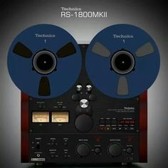 Vintage audio Technics RS-1800KII reel to reel