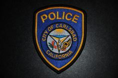 Carlsbad Police Patch, San Diego County, California