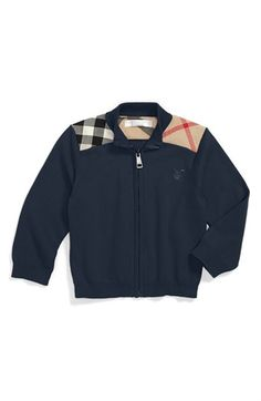 Burberry 'Christian' Sweater (Baby Boys) available at Little Boy Fashion, Baby Boy Fashion, Toddler Fashion, Toddler Outfits, Baby Boy Outfits, Kids Outfits, Kids Fashion, Baby Boys, Toddler Boys