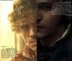 Enjolras and Grantaire - quotes from the book. This is one of the most artistically perfect things I've ever seen.