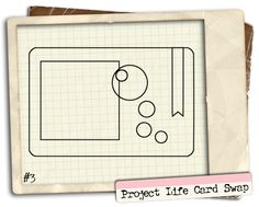 Project Life Card Sketch