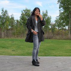 Isabel Marant grey Diego coat