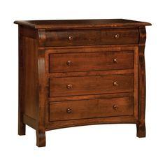 Old Town Oak 604 Castlebury 4-Drawer Dresser | ATG Stores