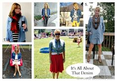The Best of Sweet Parrish Place Style {2014} denim outfit ideas #teacherstyle #realmomstyle