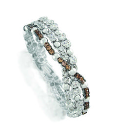 Elegant and sophisticated - we love this cognac bracelet. Don't mind if I do! Jenna Clifford, Diamond Jewelry, Renaissance, Jewelery, African, Elegant, Unique, Bracelets, Design