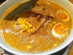 Miso ramen from Hokkaido  北海道味噌ラーメン