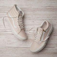 What's your style? The Vans Womens SK8-Hi Slim Trainer & Old Skool Zip Trainer.