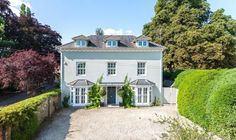 5 bedroom detached house for sale in Fairmile, Henley-On-Thames, Oxfordshire, - Rightmove. Henley Homes, Henley On Thames, Country Estate, Property For Rent, Detached House, Cottage, Mansions, House Styles, Farmhouse