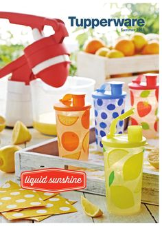 Tupperware - Summer 2015 Catalog (USA)  Tupperware catalog. Begins 4/24/15 Contact your consultant to order.