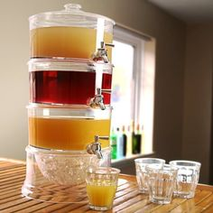 3-Tier Drink Dispenser 7.5ltr | bar@drinkstuff | Gift Boxed | Tiered Beverage Dispenser, Juice Dispenser, Punch Dispenser, Lemonade Dispenser bar@drinkstuff http://www.amazon.co.uk/dp/B00E8WNGPW/ref=cm_sw_r_pi_dp_BB.1ub0124NKK
