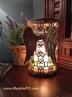 What a Gorgeous center piece this could be. www.PinkZebraHome.com/KozyHomeScents