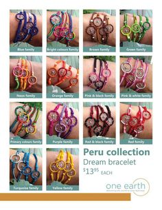 Dream Bracelets - Luther's Boutique Online Shop - One Earth, Younique, Photography | Peru Collection