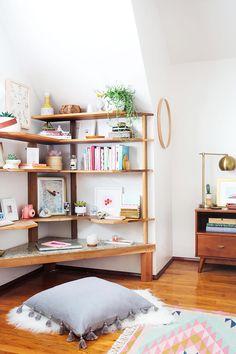 Bedroom – Bedroom Office Corner. LOVE THIS.