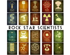 For the rockstar scientist in your family