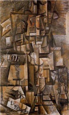 The aficionado (le torero) - Pablo Picasso 1912 -