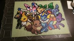 Media: Perler Beads Game: Pokemon This is a MTG playmat for my fiance! It was a request made when we first started dating (2+ years ago) that I just now completed (I know, I suck!) PS.....backgroun...