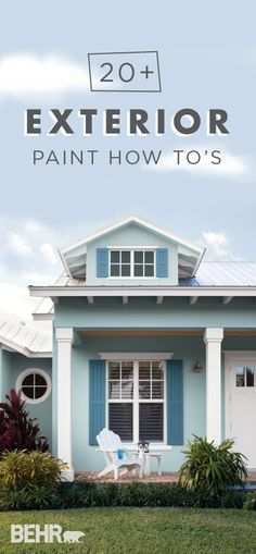 A Fresh Coat Of Paint Can Do Wonders For Your Homeu0027s Curb Appeal. Learn How  To Pull Off A DIY Home Makeover Like A Pro With This Collection Of Exterior  Pai