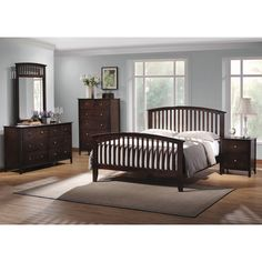 Found it at Wayfair - Crimmins Queen Sleigh Customizable Bedroom Set