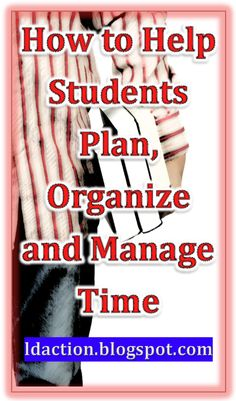 Come learn how to help students plan, organize and manage time: executive functioning strategies. Teaching Strategies, Teaching Tips, Study Skills, Life Skills, Behavior Management, Classroom Management, Time Management, Student Success, Student Learning