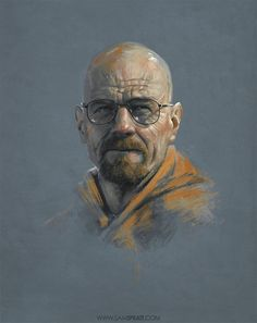 BREAKING BAD ILLUSTRATION BY SAM SPRATT