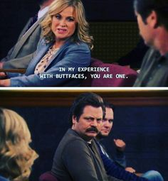 Leslie -- Parks And Recreation. Parks And Recs, Leslie Knope, Smart Girls, Tv Show Quotes, Parks And Recreation, Classic Tv, Music Tv, Best Shows Ever, Best Tv