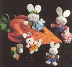 LAS MANUALIDADES DE CLAUDIA (TODO SACADO DE LA WEB): Moldes de muñecos de fieltro o paño lenci