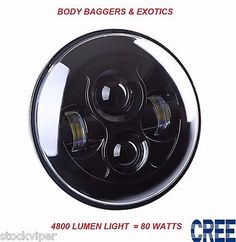 "96497 motorcycle-parts 7"" MOTORCYCLE BLACK PROJECTOR DAYMAKER HID LED LIGHT BULB HEADLIGHT For Harley  BUY IT NOW ONLY  $120.99 7"" MOTORCYCLE BLACK PROJECTOR DAYMAKER HID LED LIGHT BULB HEADLIGHT For Harley..."