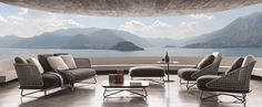 Rivera by Minotti: retro elegance, typically Mediterranean vibe