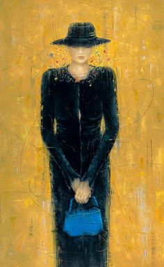Erica Hopper ~ Impressionist Figurative painter