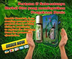 gambir serawak Asli Borneo  Msh pake Tissu M###c biar tahan lama???? tahan lama sih tp cm sebentar juga g berasa nikmat dan hambar..itu dulu!!! bisa tahan lama berjam-jam,terasa nikmat ga kebas/hambar,herbal dan aman,sehat lg g bikin jantung berdebar kyk yg di minum, cara pake cm di oles..  ayo siapa mau lg???yg mesen segera transfer ato cod SOLO KOTA..no PHP....READY GAMBIR SERAWAK.. AYO ORDER KEBURU kehabisan..!!!! Kini ada GAMBIR SERAWAK..lbh mantap dr hajar j*****m..menjadikan lelaki…